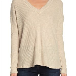 PST by Project Social T Waffle Knit Sweater